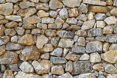 Υπόβαθρο τοίχων πετρών βράχου Στοκ εικόνα με δικαίωμα ελεύθερης χρήσης