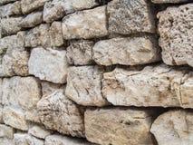 Υπόβαθρο τοίχων πετρών Στοκ φωτογραφία με δικαίωμα ελεύθερης χρήσης