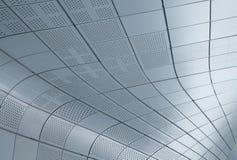 Υπόβαθρο τοίχων σιδήρου Στοκ Εικόνα