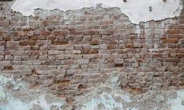 Υπόβαθρο τοίχων τούβλου grunge Στοκ εικόνες με δικαίωμα ελεύθερης χρήσης
