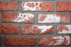 Υπόβαθρο τοίχων τούβλων Στοκ Εικόνες