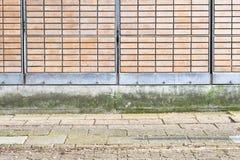 Υπόβαθρο τοίχων Στοκ Φωτογραφίες