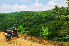 Υπόβαθρο τοπίων φύσης τοπίο Ταξίδι στην Ταϊλάνδη, Ασία Στοκ φωτογραφία με δικαίωμα ελεύθερης χρήσης