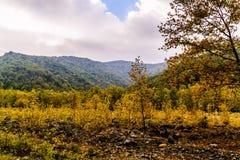 Υπόβαθρο τοπίων φύσης φθινοπώρου Στοκ εικόνες με δικαίωμα ελεύθερης χρήσης