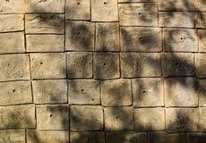 Υπόβαθρο τουβλότοιχος στοκ φωτογραφίες με δικαίωμα ελεύθερης χρήσης