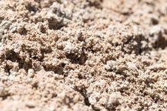 Υπόβαθρο του αμμοχάλικου και της άμμου στοκ φωτογραφίες