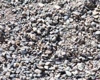 Υπόβαθρο του αμμοχάλικου και της άμμου στοκ φωτογραφία