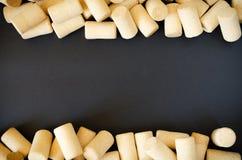 Υπόβαθρο του Κορκ κρασιού Στοκ Εικόνες
