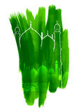 Υπόβαθρο του Μουμπάρακ Eid (ευτυχές Eid) ελεύθερη απεικόνιση δικαιώματος