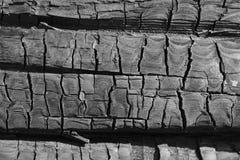 Υπόβαθρο του ξυλάνθρακα Στοκ Εικόνες