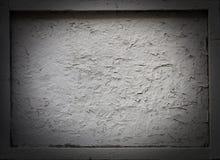 Υπόβαθρο του παλαιού κενού ξύλινου πιάτου οδών με ένα σύντομο χρονογράφημα Στοκ φωτογραφία με δικαίωμα ελεύθερης χρήσης