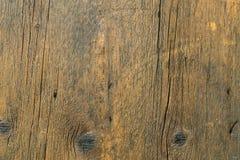 Υπόβαθρο του παλαιού ξύλου με τις ρωγμές Στοκ φωτογραφία με δικαίωμα ελεύθερης χρήσης