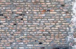 Υπόβαθρο του παλαιού τουβλότοιχος gundge Στοκ φωτογραφία με δικαίωμα ελεύθερης χρήσης