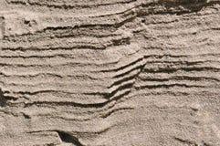 Υπόβαθρο του τοίχου άμμου Στοκ Εικόνες