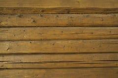 Υπόβαθρο του τοίχου φιαγμένο από ξύλινες διαπραγματεύσεις Στοκ φωτογραφία με δικαίωμα ελεύθερης χρήσης