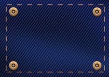 Υπόβαθρο του υλικού τζιν Στοκ εικόνες με δικαίωμα ελεύθερης χρήσης