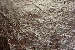 Υπόβαθρο του φύλλου αλουμινίου αργιλίου Στοκ Φωτογραφίες