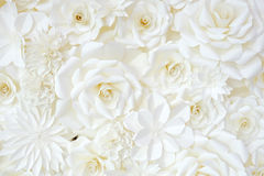 Υπόβαθρο του χαρτί-διπλώματος του λουλουδιού στοκ φωτογραφία με δικαίωμα ελεύθερης χρήσης