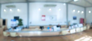 Υπόβαθρο του χώρου γραφείου Στοκ Φωτογραφία