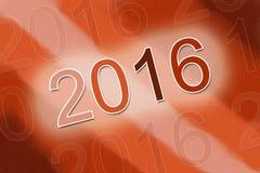 υπόβαθρο του 2016 Διανυσματική απεικόνιση