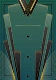 Υπόβαθρο του Art Deco ανεμιστήρων Στοκ Φωτογραφίες