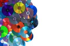 Υπόβαθρο του CD και DVD (στοιχεία) Στοκ εικόνα με δικαίωμα ελεύθερης χρήσης