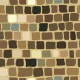 Υπόβαθρο τούβλου στο καφετί χρώμα άνευ ραφής σύσταση Ελεύθερη απεικόνιση δικαιώματος