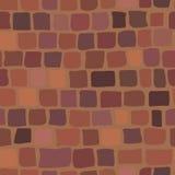 Υπόβαθρο τούβλου στο κόκκινο χρώμα άνευ ραφής σύσταση Απεικόνιση αποθεμάτων