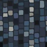 Υπόβαθρο τούβλου στο μπλε χρώμα άνευ ραφής σύσταση Ελεύθερη απεικόνιση δικαιώματος