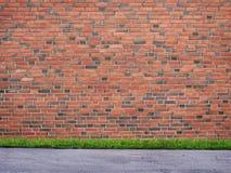 Υπόβαθρο τούβλων Στοκ φωτογραφία με δικαίωμα ελεύθερης χρήσης