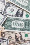 Υπόβαθρο τραπεζογραμματίων αμερικανικών δολαρίων Στοκ Φωτογραφία