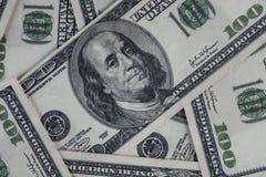 Υπόβαθρο τραπεζογραμματίων δολαρίων για το θέμα επιχειρήσεων και χρηματοδότησης και ομο στοκ εικόνες με δικαίωμα ελεύθερης χρήσης