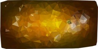 Υπόβαθρο τριγώνων διαφορετικός κίτρινος Στοκ Φωτογραφία