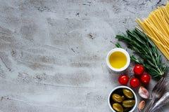 Υπόβαθρο τροφίμων ζυμαρικών στοκ εικόνες με δικαίωμα ελεύθερης χρήσης