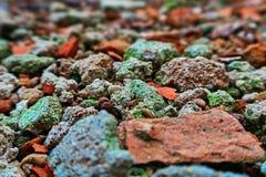Υπόβαθρο των αποβλήτων κατασκευής Στοκ εικόνες με δικαίωμα ελεύθερης χρήσης