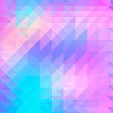 Υπόβαθρο των γεωμετρικών μορφών pattern retro ζωηρόχρωμο μωσαϊκό εμβλημά&ta hipster με τη θέση για το κείμενό σας τρίγωνο Διανυσματική απεικόνιση