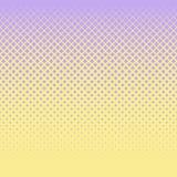 Υπόβαθρο των ιωδών διαμαντιών των διαφορετικών μεγεθών σε έναν κίτρινο τομέα στοκ φωτογραφίες με δικαίωμα ελεύθερης χρήσης