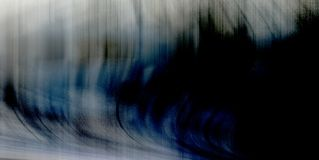 Υπόβαθρο των κάθετων κυματιστών γραμμών περίληψης κρητιδογραφιών στοκ φωτογραφίες
