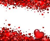 Υπόβαθρο των καρδιών Στοκ εικόνα με δικαίωμα ελεύθερης χρήσης