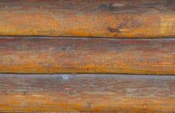 Υπόβαθρο των κούτσουρων και των σανίδων Στοκ Φωτογραφία
