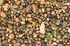 Υπόβαθρο των μικρών χαλικιών και της άμμου Στοκ φωτογραφία με δικαίωμα ελεύθερης χρήσης