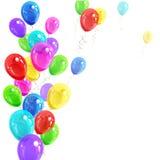 Υπόβαθρο των μπαλονιών Στοκ Εικόνες