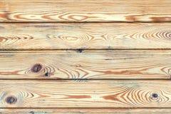 Υπόβαθρο των ξύλινων πινάκων με τους κόμβους Στοκ Εικόνα