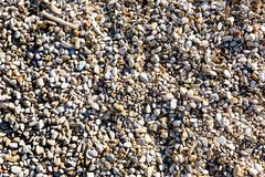 Υπόβαθρο των πετρών χαλικιών στην ακτή στοκ φωτογραφίες με δικαίωμα ελεύθερης χρήσης