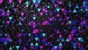 Υπόβαθρο των τριγώνων απόθεμα βίντεο