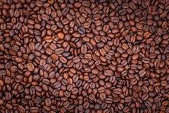 Υπόβαθρο των φασολιών καφέ, ταπετσαρία Στοκ Εικόνες