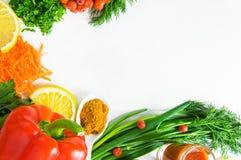Υπόβαθρο των φρέσκων λαχανικών Στοκ φωτογραφίες με δικαίωμα ελεύθερης χρήσης