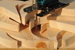 Τέμνον ξύλο. Στοκ Φωτογραφίες