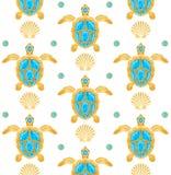 Υπόβαθρο των χελωνών στοκ εικόνα