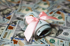 Υπόβαθρο των χρημάτων για την επιχείρηση, δολάριο, χρήματα Στοκ φωτογραφία με δικαίωμα ελεύθερης χρήσης